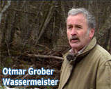 Filmfoto des Films Wassermeister von Franz Fitzke - Otmar Gruber - Wassermeister - © UrQuellWasser