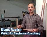 Filmfoto des Films Wassermeister von Franz Fitzke - Klaus Rauber - Verein für Implosionsforschung - © UrQuellWasser