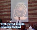 Filmfoto des Films Wassermeister von Franz Fitzke - Professor Bernd Kröplin - Universität Stuttgart - © UrQuellWasser