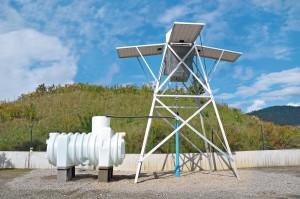 Solarbrunnen-Pumpstation