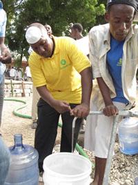 Trinkwasser für Haiti Spenden Sie einen Monat