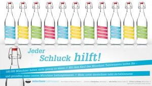 Münchener Leitungswasser, Tafelwasser, Serviceplan, Münchener Tafel