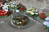 Die heilige Quelle von Lourdes in Frankreich